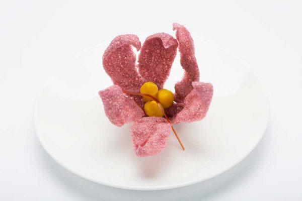 ars-italica-caviale-sevruga-Fiore-di-zafferano-soffiato