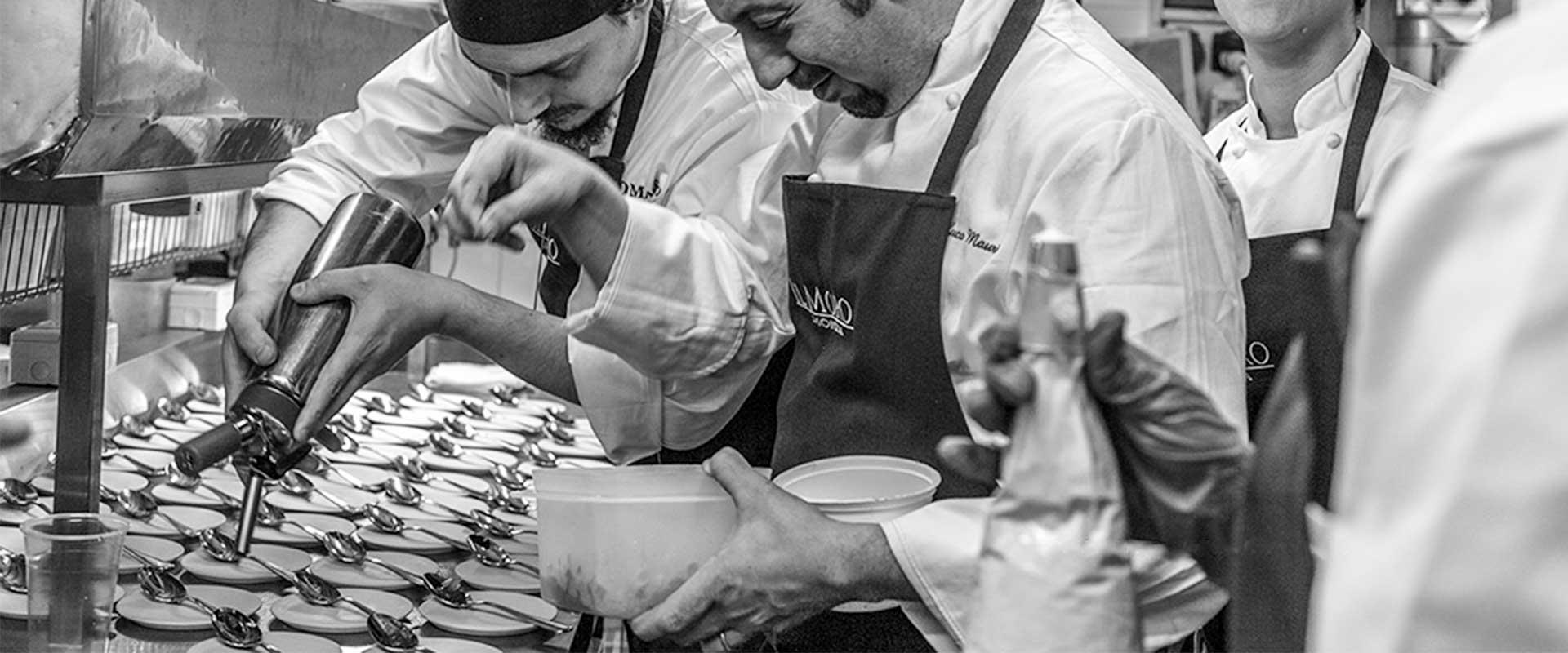 Identità Golose – La cena solidale a Il Moro di Monza per aiutare il progetto PizzAut
