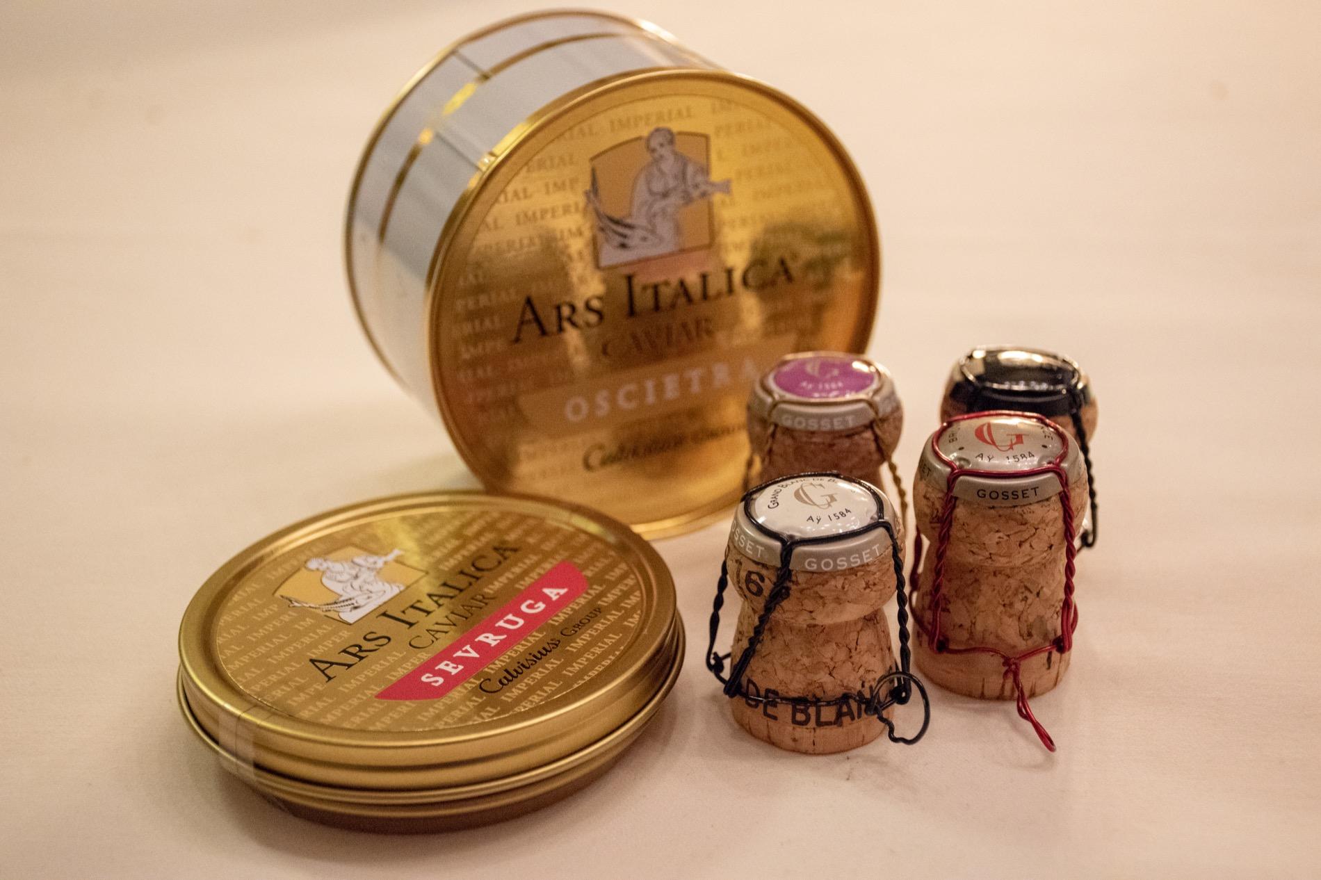 Ars Italica & Champagne Gosset @ Ginevra